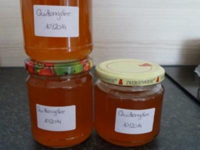 Quittenmarmelade und Gelee - Rezept