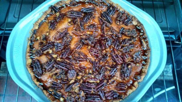 Pumpkin - Pecan - Pie - Rezept - Bild Nr. 6