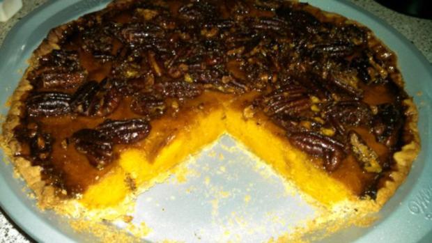 Pumpkin - Pecan - Pie - Rezept - Bild Nr. 7