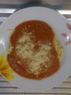 Grünkern- Bolognese mit Nudeln und Chashew-Parmesan - Rezept