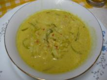 Curry-Suppe - Rezept