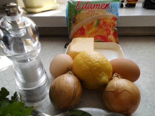 Fisch: Schollenfilets mit Käse und Eiern überbacken - Rezept - Bild Nr. 2