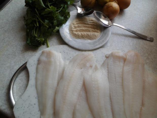 Fisch: Schollenfilets mit Käse und Eiern überbacken - Rezept - Bild Nr. 3