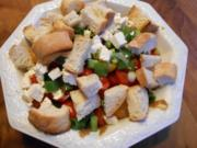 Toskanischer Brotsalat - Rezept