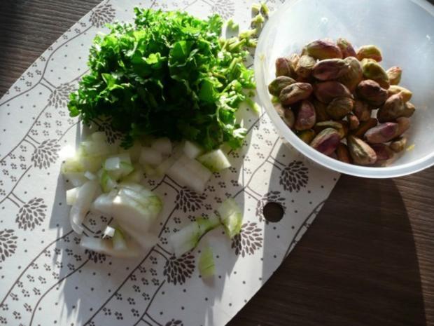 Rosenkohl  - Karotten - Pfanne mit Tricolore Nudeln. - Rezept - Bild Nr. 2