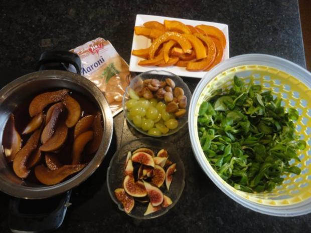 eleganter Herbst Salat mit Kürbis - Rezept - Bild Nr. 8