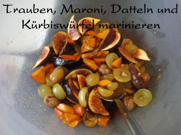 eleganter Herbst Salat mit Kürbis - Rezept - Bild Nr. 10