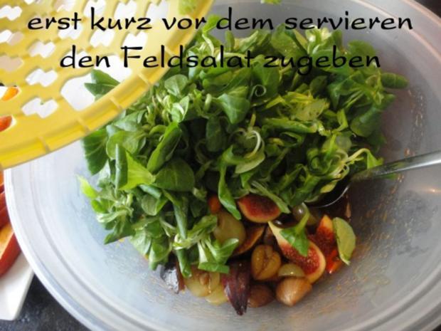 eleganter Herbst Salat mit Kürbis - Rezept - Bild Nr. 11