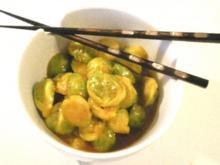 Chinesischer Rosenkohl - Rezept