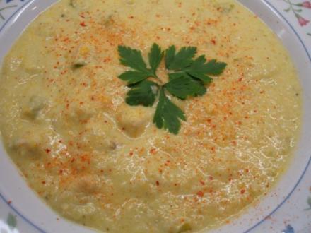 Suppen: Dicke Rosenkohlsuppe - Rezept