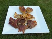 Seeteufel in Parmaschinken und gefüllte Altländer Gnocchi - Rezept