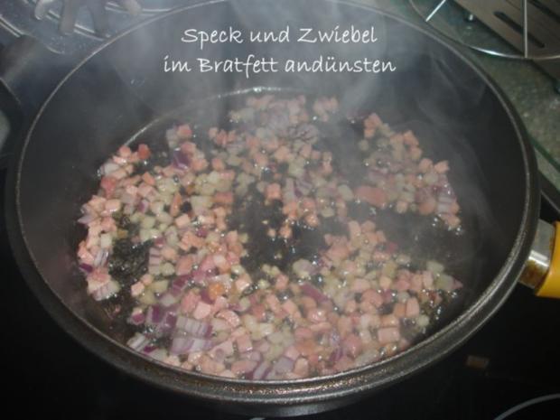 Gebratene Pilzbohnen - Rezept - Bild Nr. 3