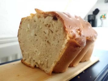 Kuchen: Apfel-Quark-Kiste - Rezept