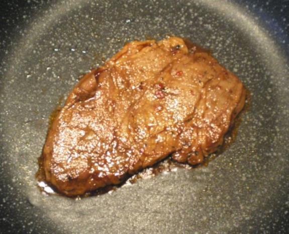 Chinesisches Schweine-Nacken Steak mit Soja-Soße mariniert - Rezept - Bild Nr. 5