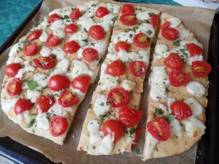 Tomaten-Mozzarella -Focaccia - Rezept