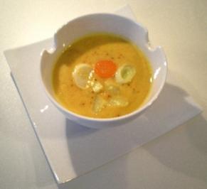 Feines spätsommerliches Gemüse Süppchen - Rezept