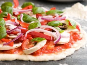 Rezept: Low-Carb-Rezepte: Zucchini-Lasagne, Pizza und Spinatrollen