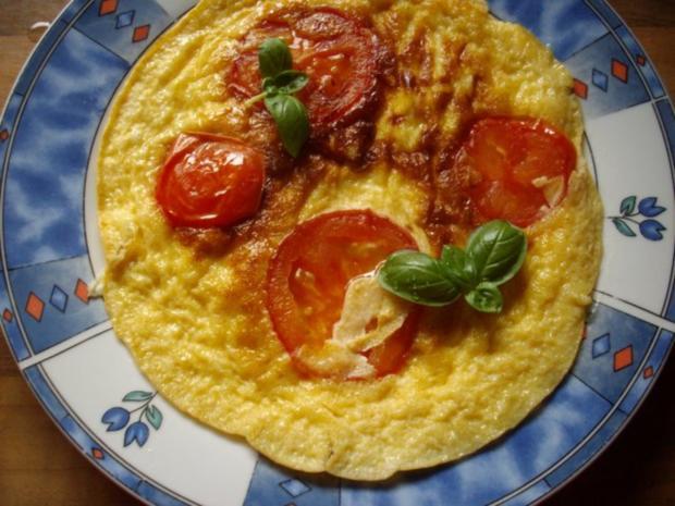 tomaten-käse-omelett - Rezept