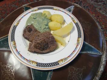Grüne Soße mit Tafelspitz, Kartoffeln und Nussbutter - Rezept