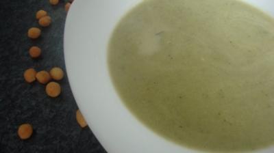 Zucchinicreme Suppe - Rezept