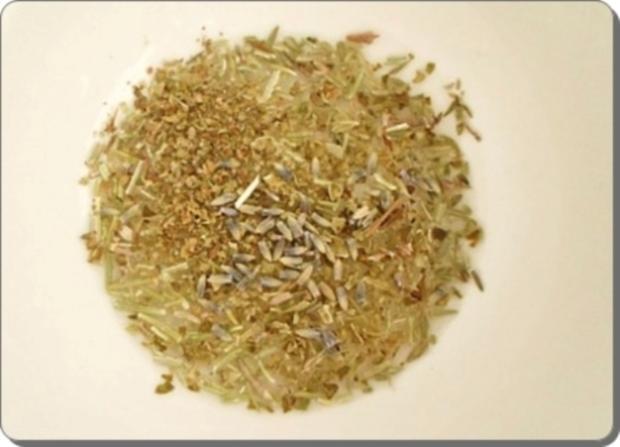 Schafskäse Salat nappiert mit leckerem Lavendel Dressing - Rezept - Bild Nr. 7