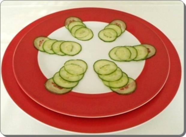 Schafskäse Salat nappiert mit leckerem Lavendel Dressing - Rezept - Bild Nr. 14