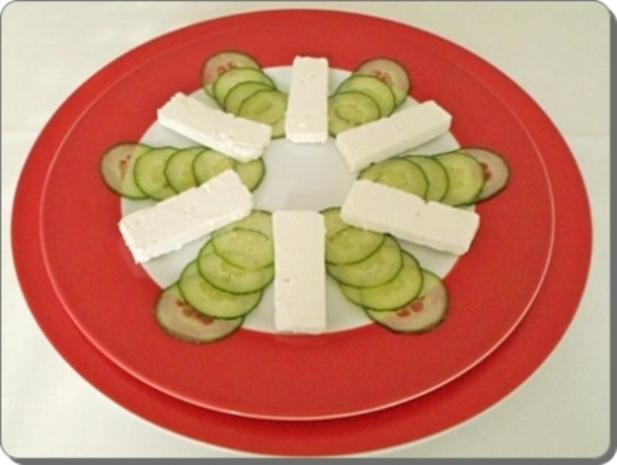 Schafskäse Salat nappiert mit leckerem Lavendel Dressing - Rezept - Bild Nr. 15