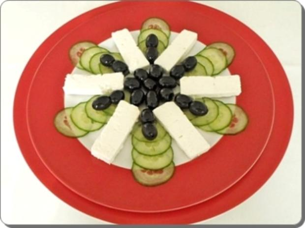 Schafskäse Salat nappiert mit leckerem Lavendel Dressing - Rezept - Bild Nr. 16