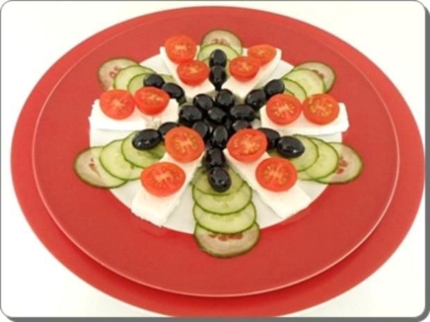Schafskäse Salat nappiert mit leckerem Lavendel Dressing - Rezept - Bild Nr. 17