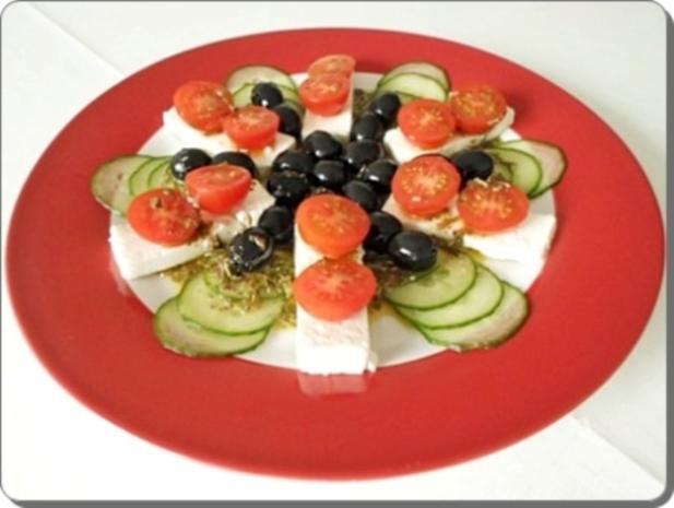 Schafskäse Salat nappiert mit leckerem Lavendel Dressing - Rezept - Bild Nr. 19