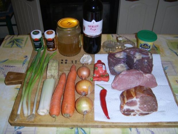 Schlesische Sonntagsbratenpfanne - Rezept - Bild Nr. 2