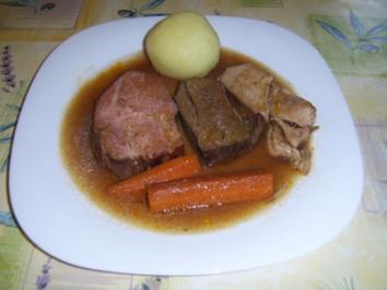 Schlesische Sonntagsbratenpfanne - Rezept