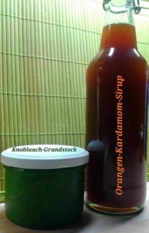Orangen-Kardamom-Sirup - Rezept
