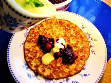 Heidelbeer - Pfannkuchen... - Rezept - Bild Nr. 3