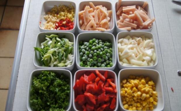 Wok-Hähnchen-Gemüse-Curryreis - Rezept - Bild Nr. 3