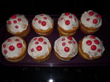 Fliegenpilz Muffins - Rezept