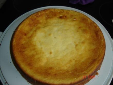 Luftiger Käsekuchen ohne Boden - Rezept