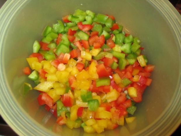 Kritharaki - Salat mit Hackfleisch - Rezept - Bild Nr. 4