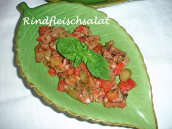 Rezept: Rindfleischsalat