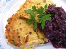 Kartoffeln: Kräuterbratlinge aus Knödeln - Rezept