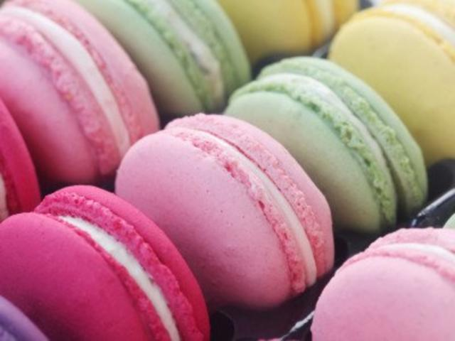 Macarons Mit Puderzucker Und Mandelmehl Rezept Mit Bild Kochbarde