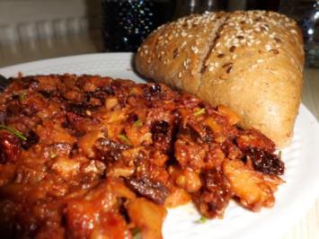 Pfannengericht: Pfifferling-Tomaten-Pfanne - Rezept