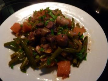 Lamm- Gemüse-Kürbis und Kastanien Eintopf - Rezept