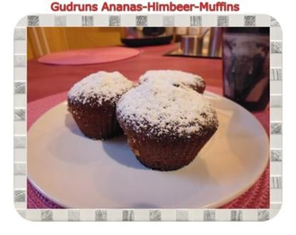 Muffins: Himbeer-Ananas-Muffins - Rezept