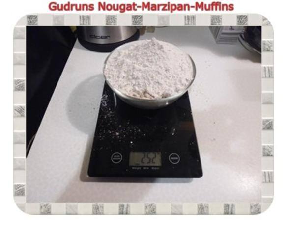 Muffins: Nougat-Marzipan-Muffins - Rezept - Bild Nr. 3
