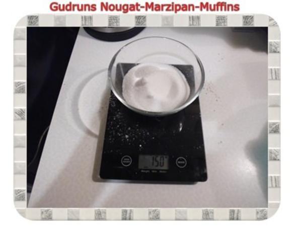 Muffins: Nougat-Marzipan-Muffins - Rezept - Bild Nr. 4