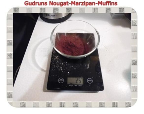 Muffins: Nougat-Marzipan-Muffins - Rezept - Bild Nr. 5