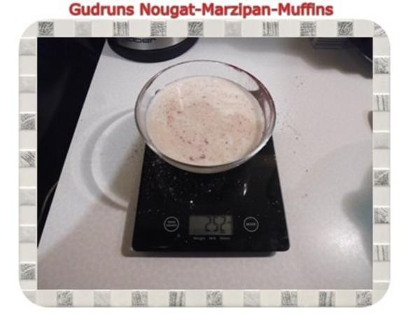 Muffins: Nougat-Marzipan-Muffins - Rezept - Bild Nr. 6