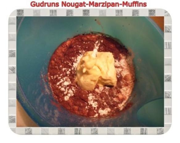 Muffins: Nougat-Marzipan-Muffins - Rezept - Bild Nr. 7