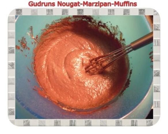 Muffins: Nougat-Marzipan-Muffins - Rezept - Bild Nr. 8